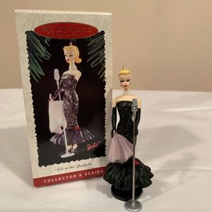 Hallmark Ornament Barbie Solo in the Spotlight NIB